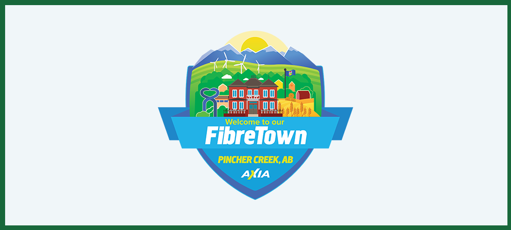 Pincher Creek is proud to be a fibre town!