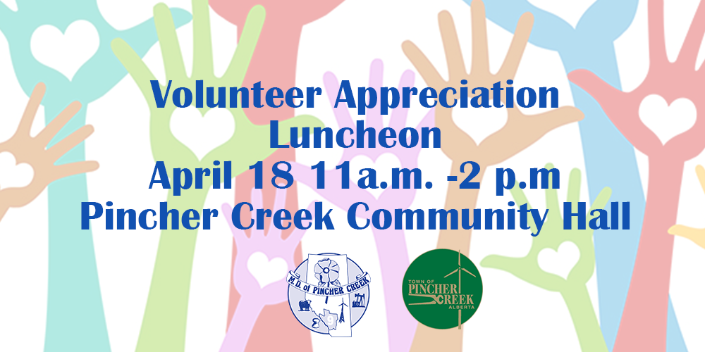 Join us on April 18 to celebrate our volunteers!