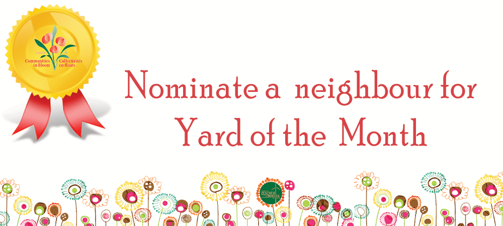Click here to nominate your favorite yard