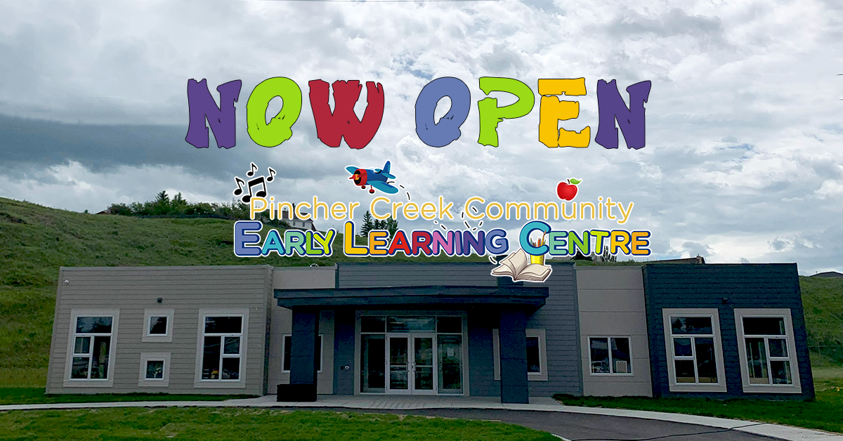 Two new child care centres are now open!