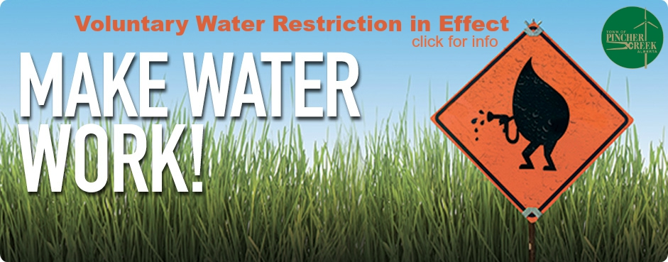 Voluntary Water Restriction
