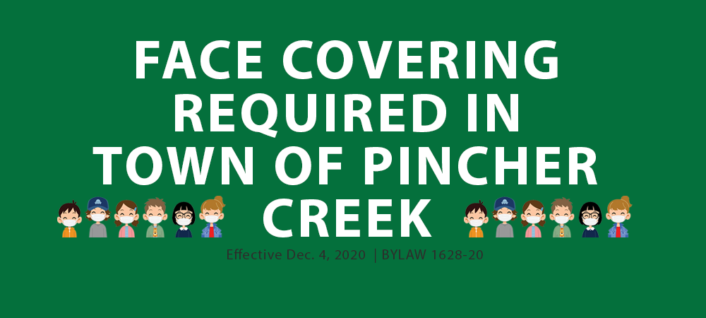 Council for the Town of Pincher Creek passed by majority Bylaw #1628-20