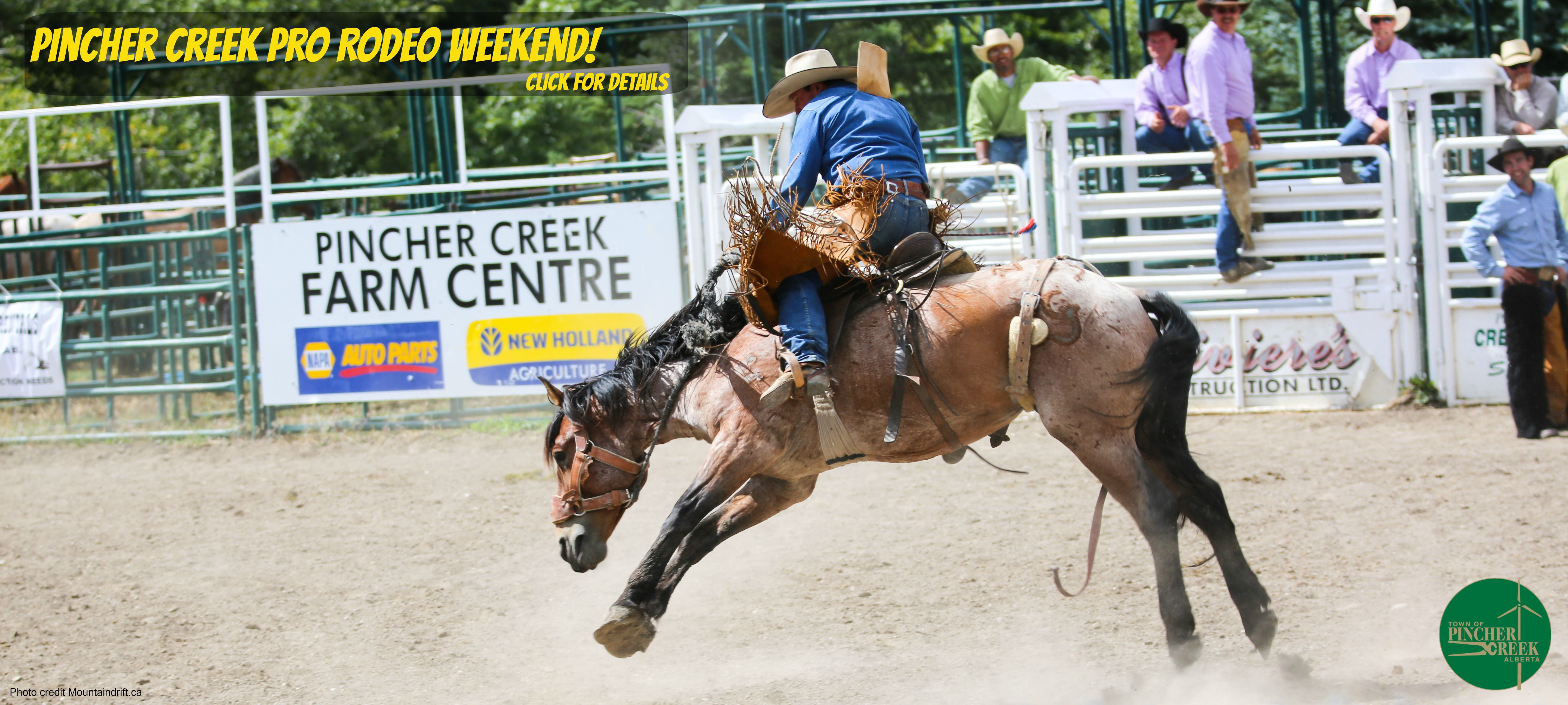 Click here for all the details on what is happening in Pincher Creek for Rodeo Weekend!