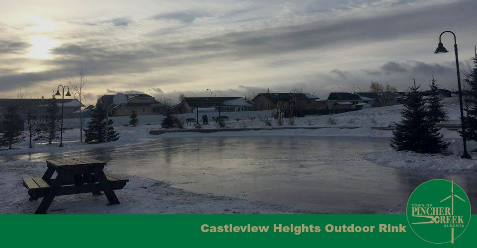 Castleview Heights outdoor skating